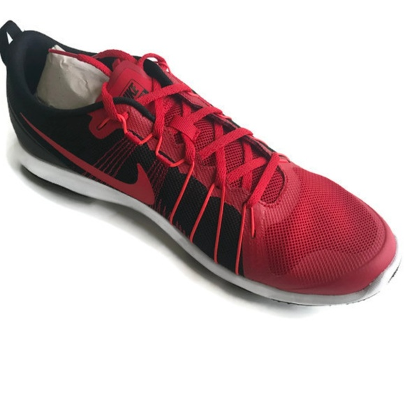 66bbddc66e53 NIKE FLEX Train AVER Running Shoes MENS Red Sz 10.  M 5a835fb884b5ced3a5c91106